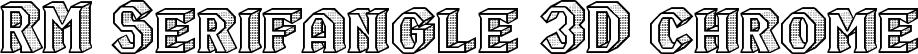 RM Serifangle 3D chrome