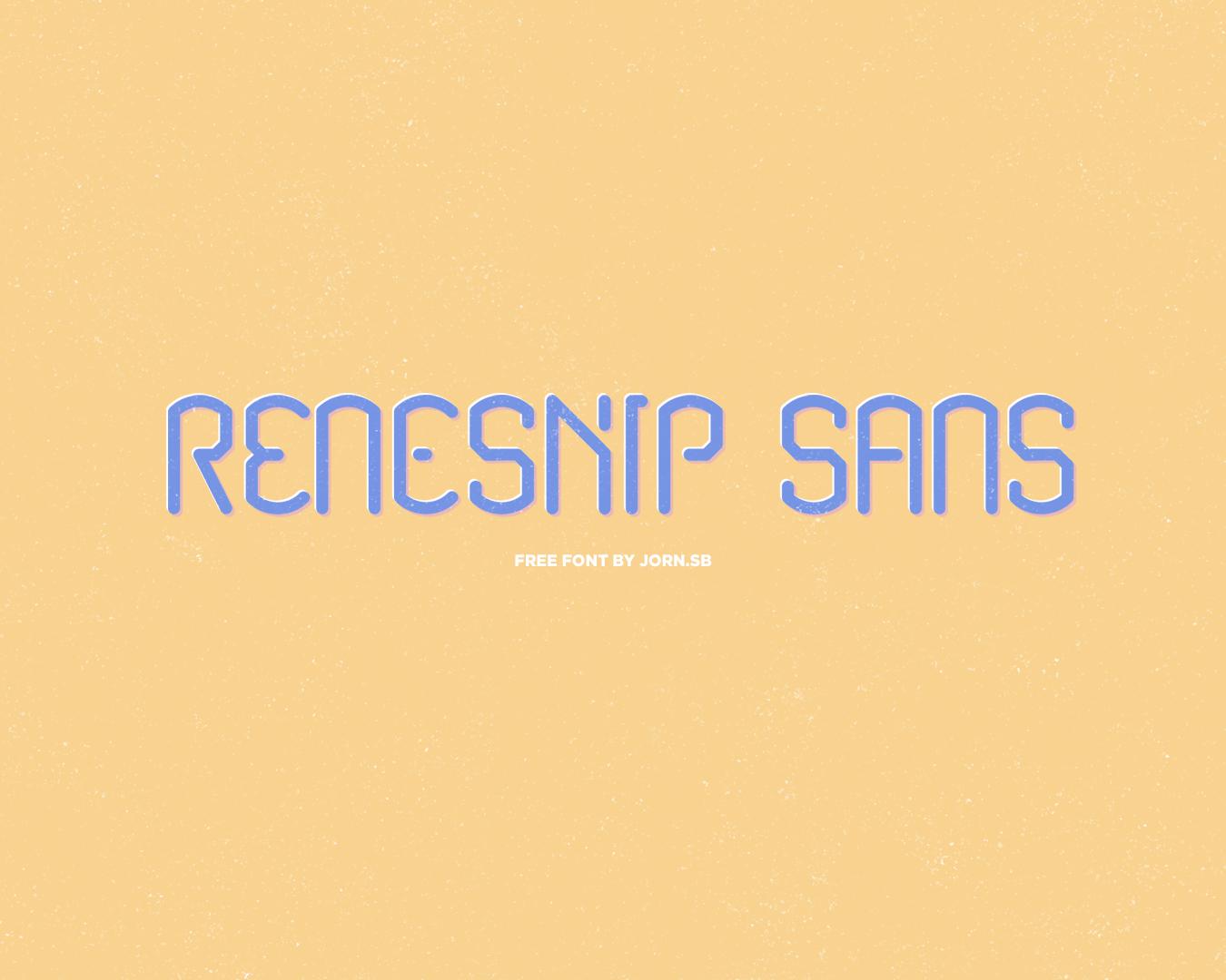 Renesnip Sans