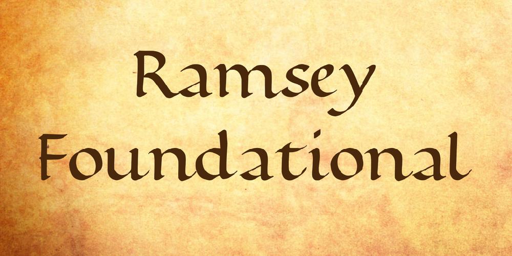 Ramsey Foundational