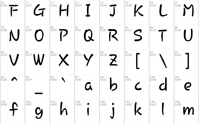 Rosemary Font Windows font - free for Personal