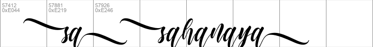 sahanaya