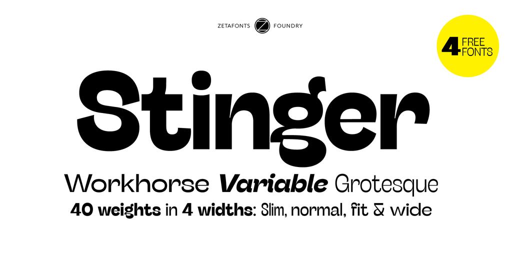 Stinger Wide Trial