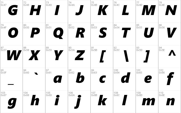 Segoe UI Black font - free for Personal