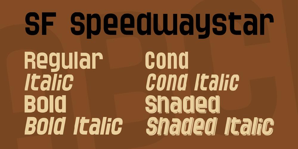 SF Speedwaystar