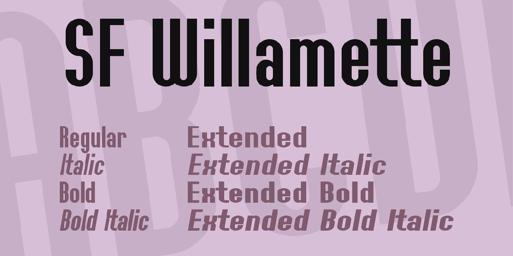 SF Willamette