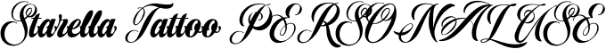 Starella Tattoo PERSONAL USE