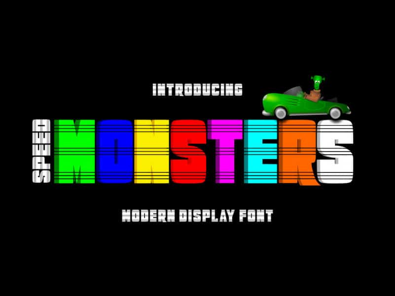 Speed Monsters Demo