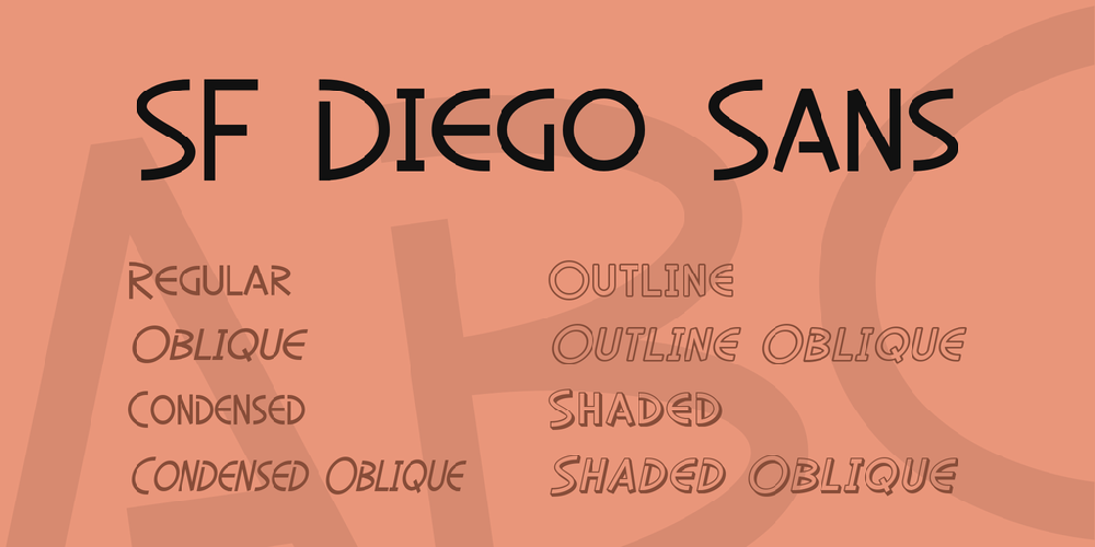 SF Diego Sans