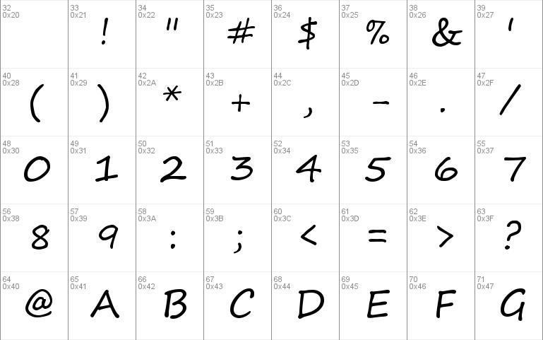 Segoe Print Windows Font Free For Personal