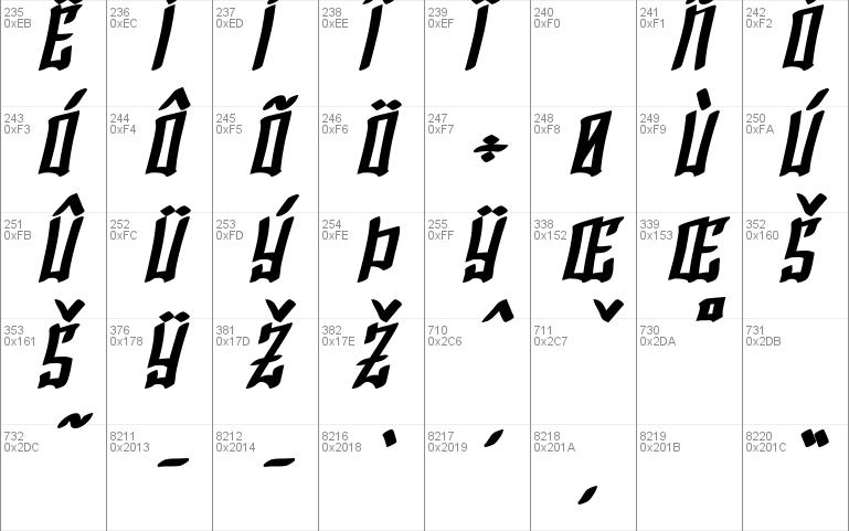 SF Shai Fontai Font