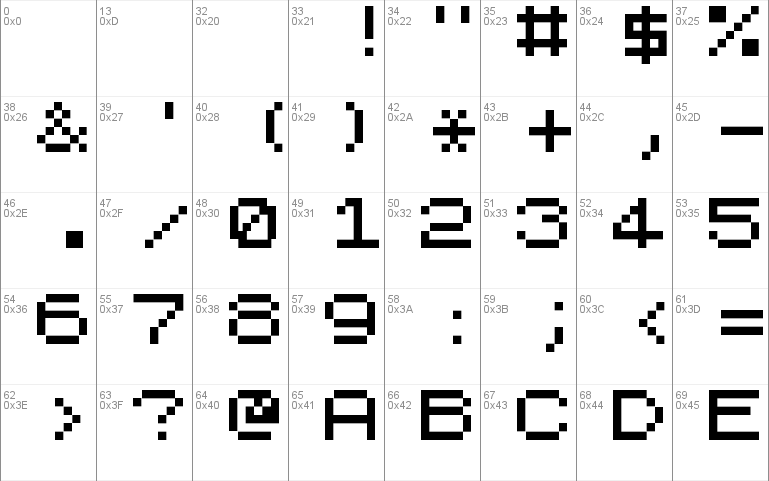 Sinclair Zx Spectrum Es Font Free For Personal