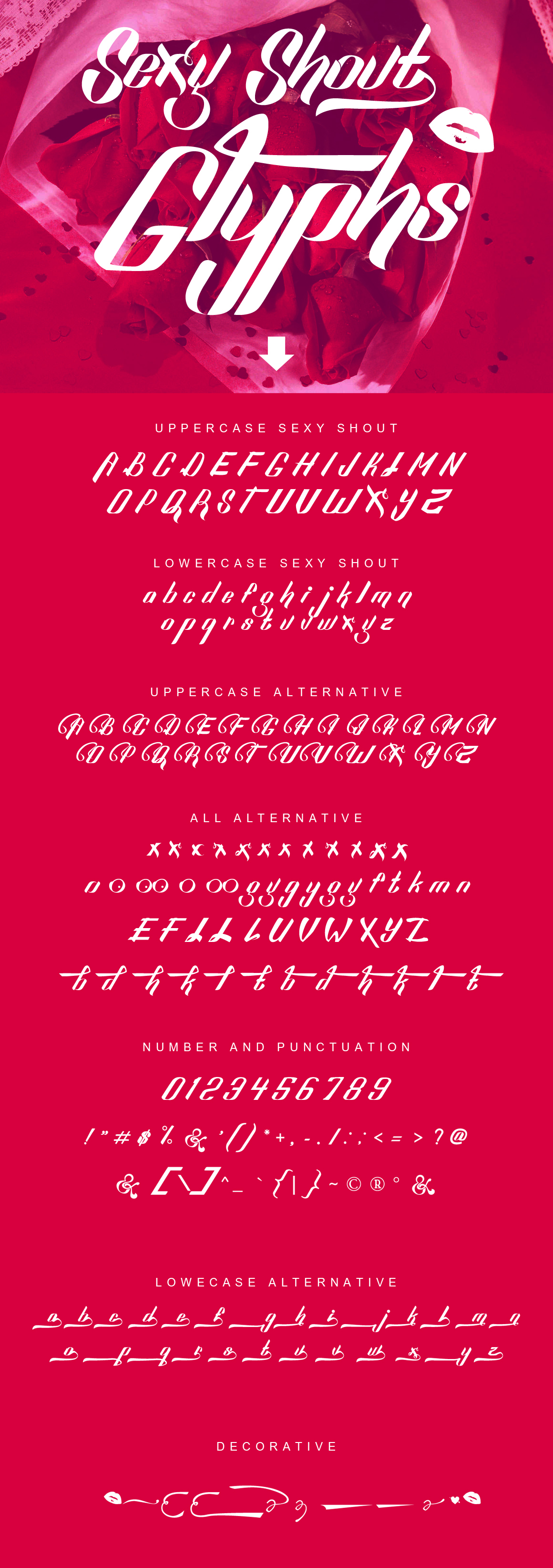 Download Sexy Shout Windows font - free for Personal