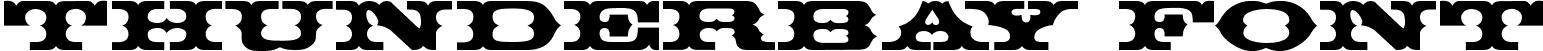 ThunderBay Font