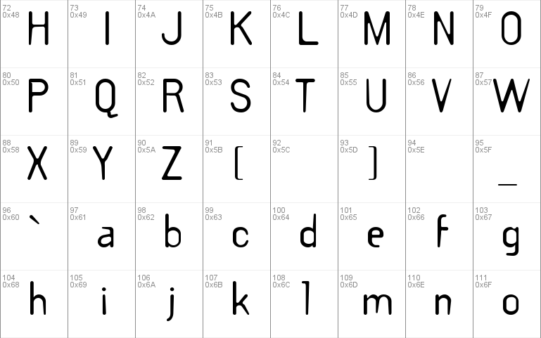 templategothic windows font free for personal