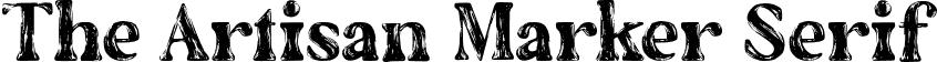 The Artisan Marker Serif
