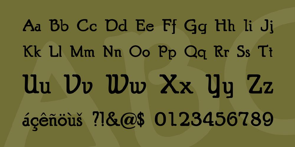 Typographer Puritan