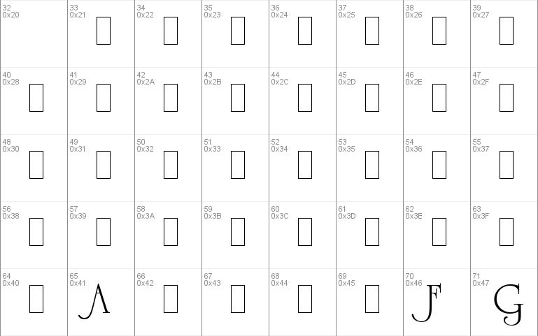 University Roman Alts LET Windows font - free for Personal