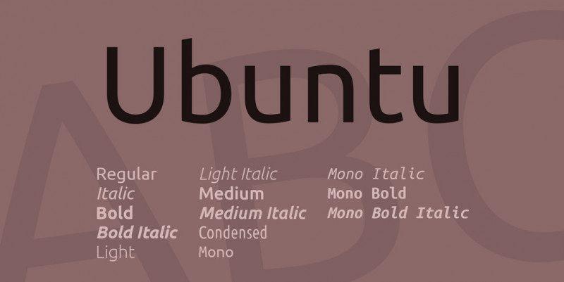 Ubuntu sans