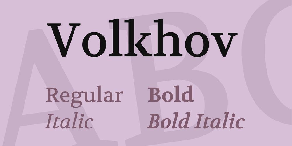 Volkhov
