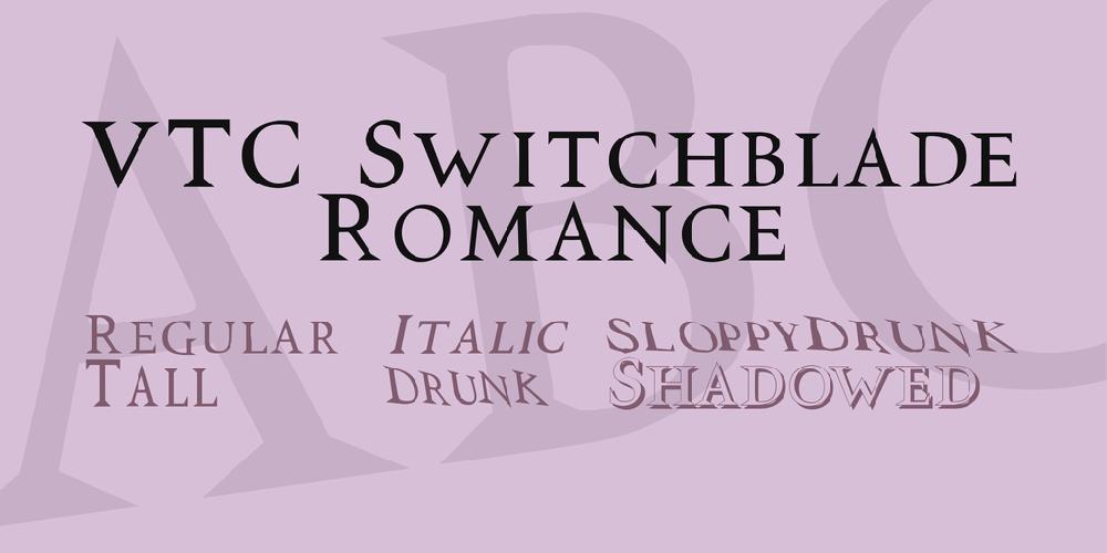 VTC Switchblade Romance