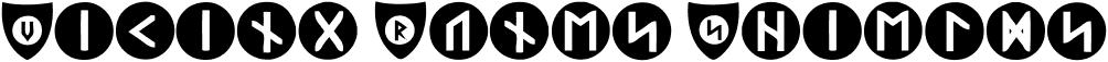 Viking Runes Shields