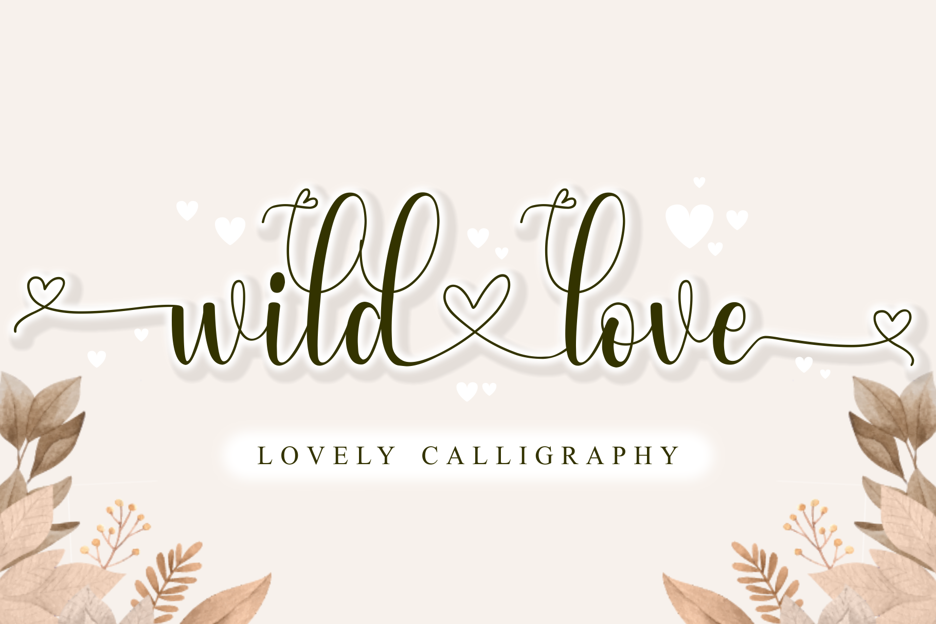 Wild Love Windows font - free for Personal
