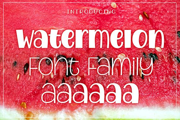 Watermelon Family