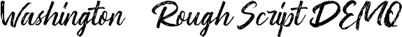 Washington ~ Rough Script DEMO