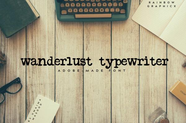 Wanderlust Typewriter Demo