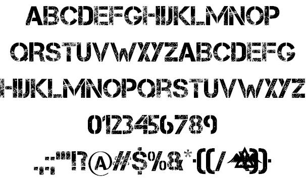 WordMean Font