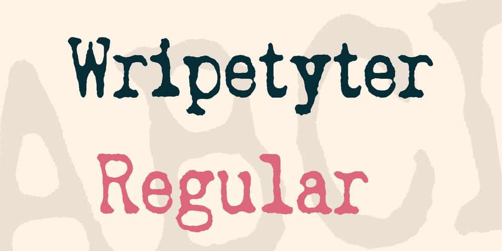 Wripetyter