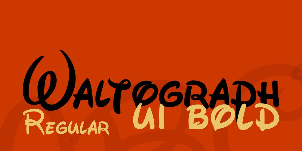 Waltograph Disney