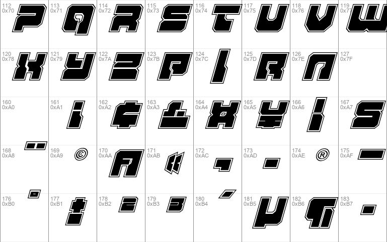 Yamagachi 2050 Academy Italic