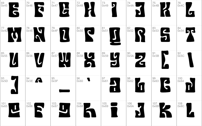 Your Groovy Font